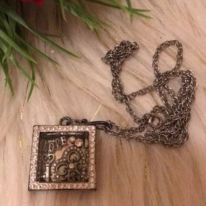 Jewelry - Silver shadowbox charms necklace